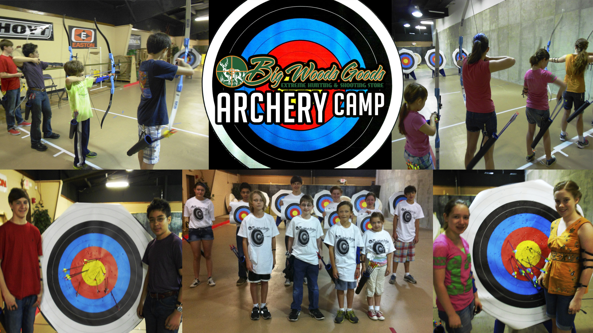 2017 Archery Camp at Big Woods Goods