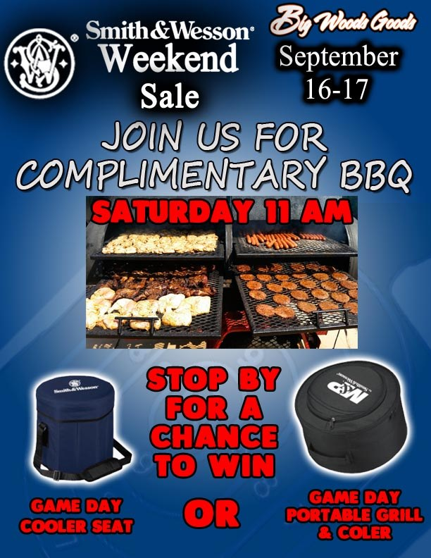 Complimentary BBQ at Big Woods Goods