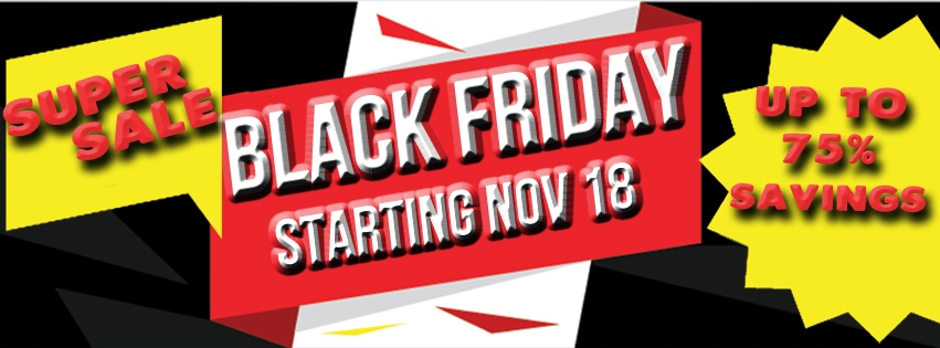 2017 Black Friday Sale