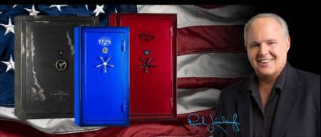 Rhino Safes at Big Woods Goods - as advertised by Rush Limbaugh
