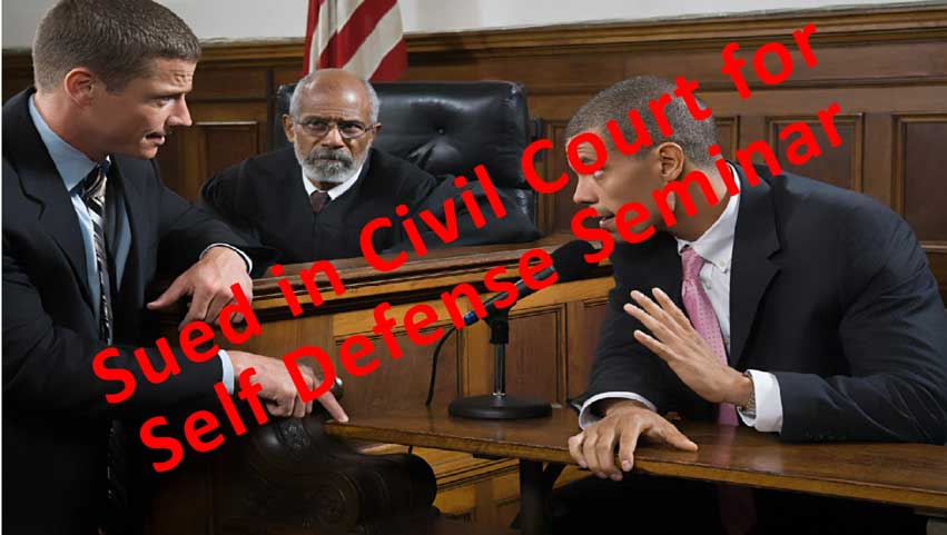 Sued in Civil Court