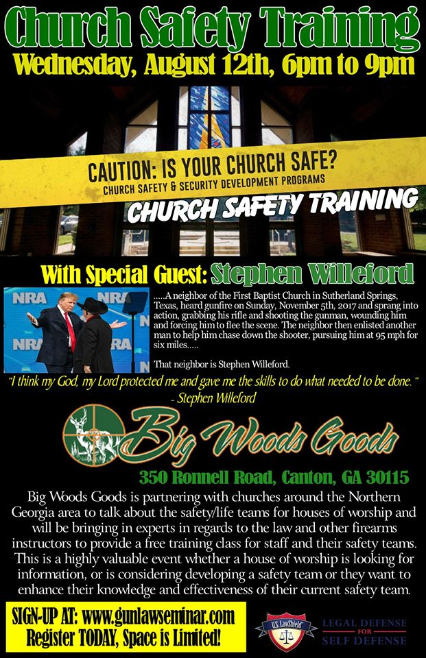 Church Safety Training with Stephen Willeford